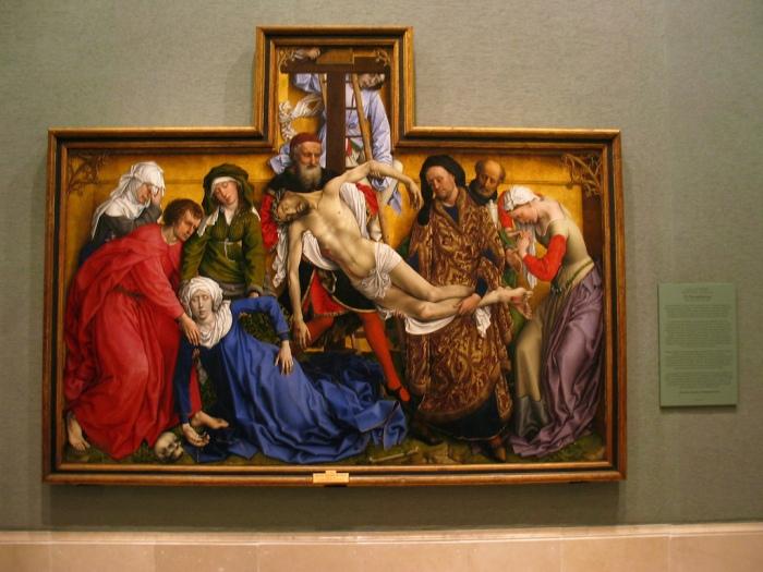 Descent from the Cross Rogier van der Weyden